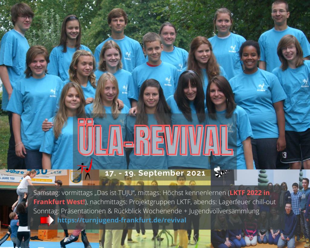 ÜLA-Revival Wochenende vom 17. bis 19.9. in Höchst